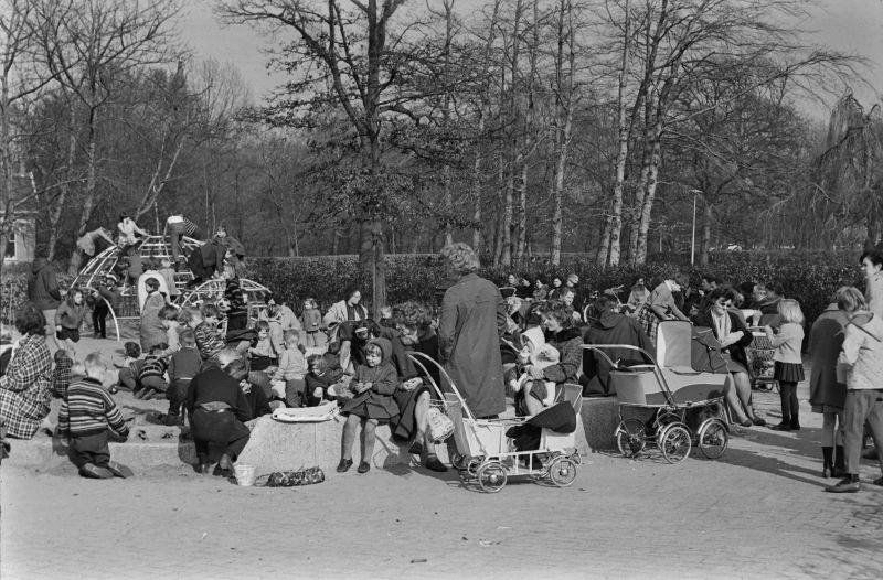 Vondelpark Amsterdam (jaartal: 1950 tot 1960) - Foto's SERC