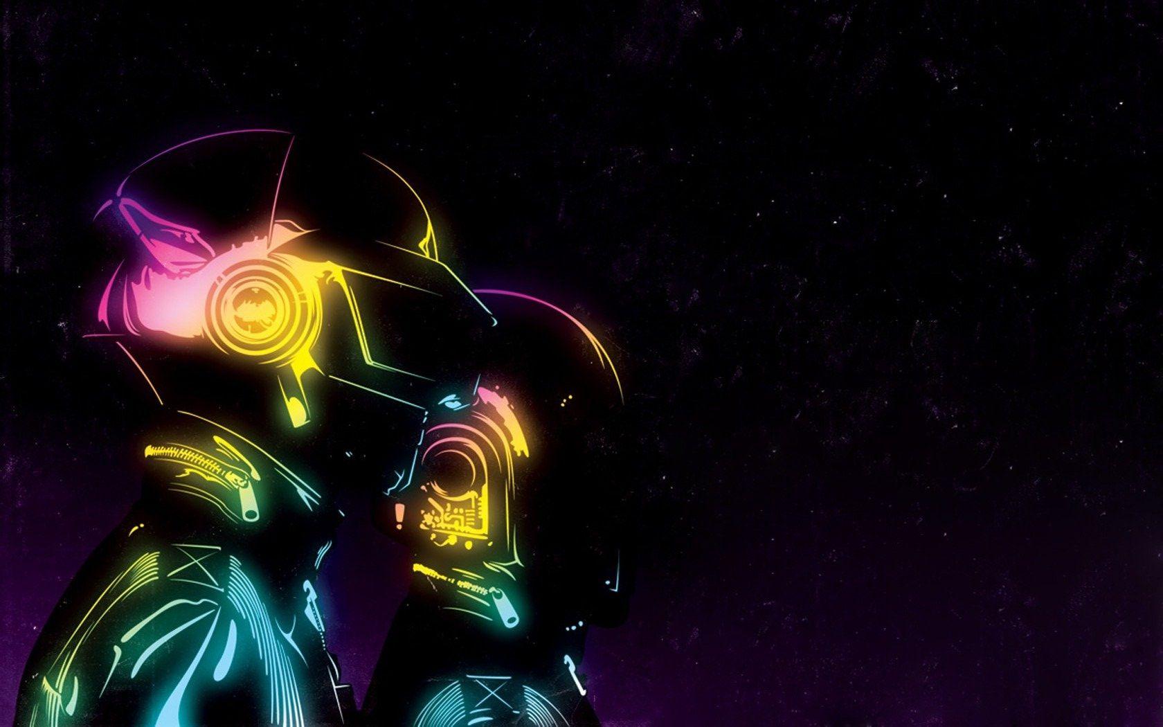 Daft Punk.   Daft punk, Minimal wallpaper, Music wallpaper