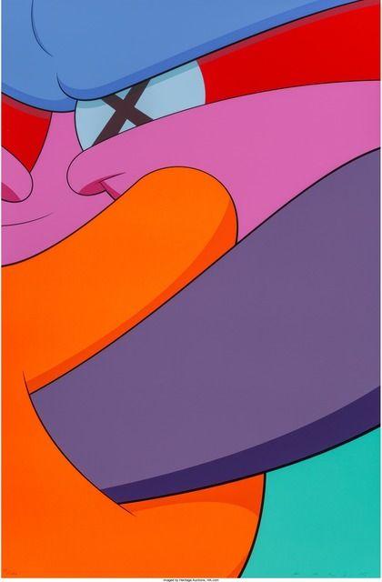 Kaws iPhone Kubrick iPhone Wallpaper