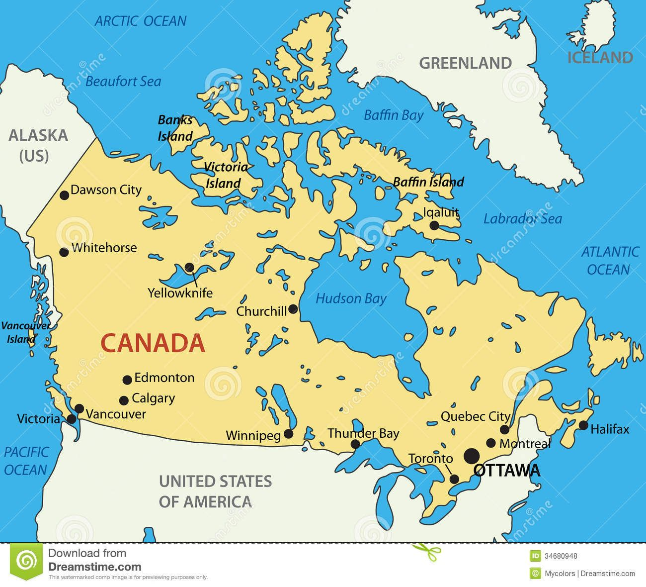 Mapa De Canada Guia Turistico Vancouver Mapas Del Mundo