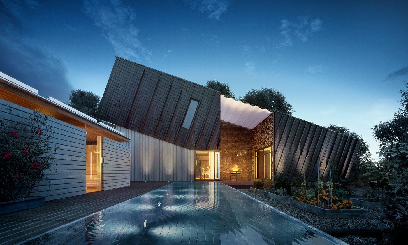 Zero Emission Design House | Moderne häuser und Häuschen