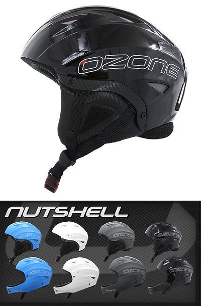 Hang Gliding Ozone Chin Guard ONLY for Nutshell Helmet Black for Paragliding