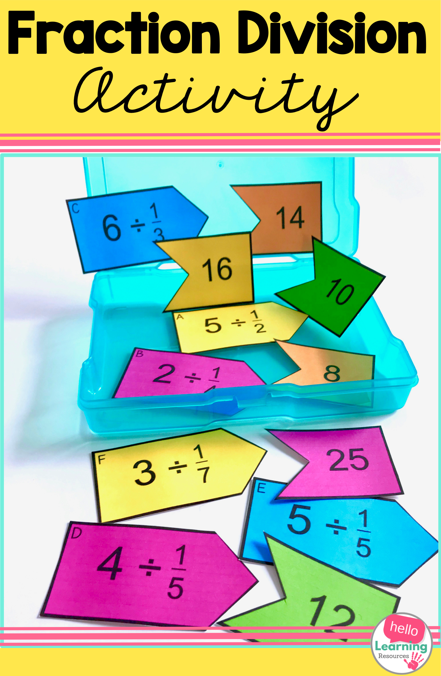 Fraction Division Activity