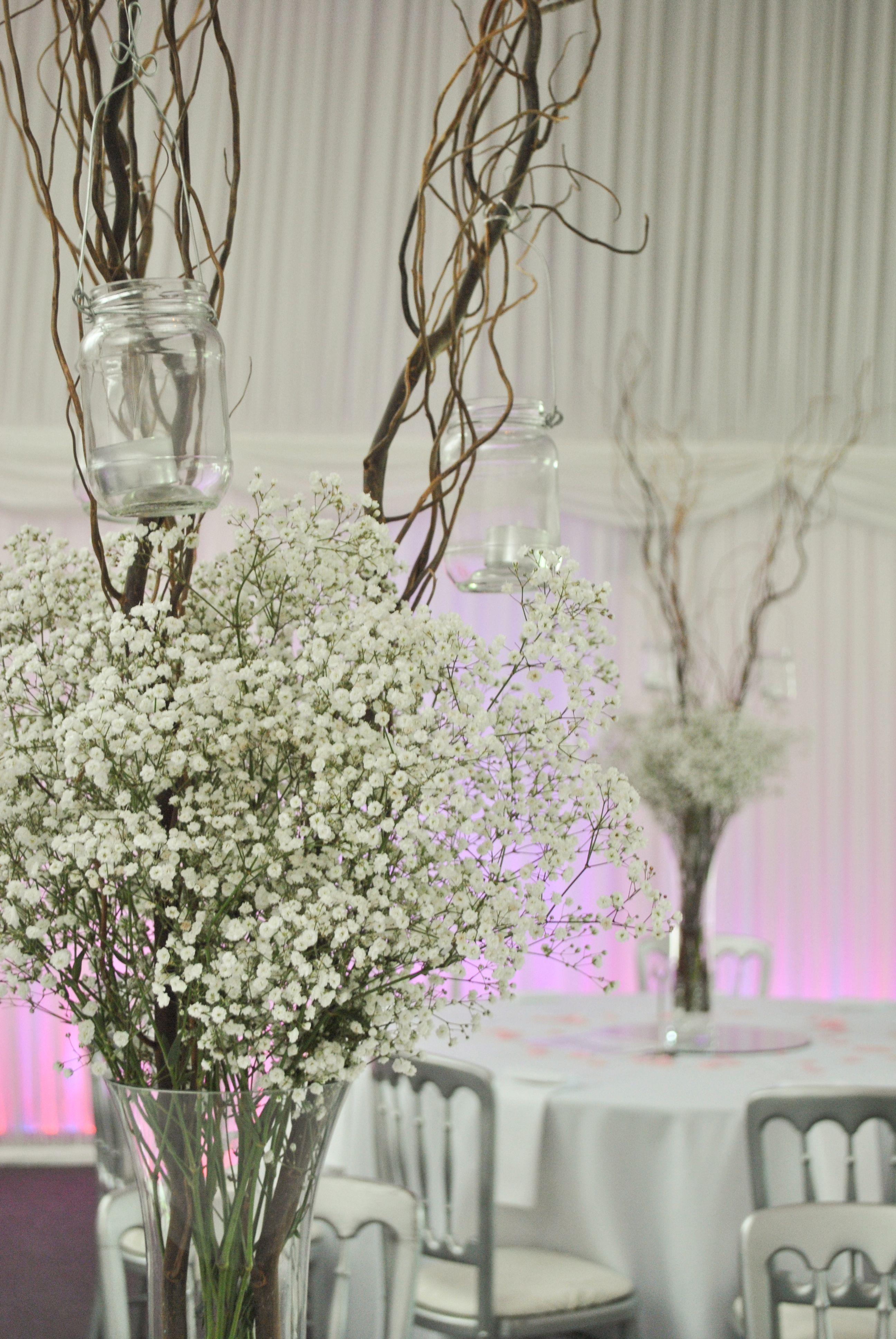 Branche arbre decoration mariage affordable des signes dempreintes digitales de peinture sur - Branche arbre decoration ...