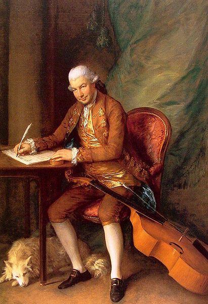 Carl Friedrich Abel (December 22, 1723 - June 20, 1787) German composer.