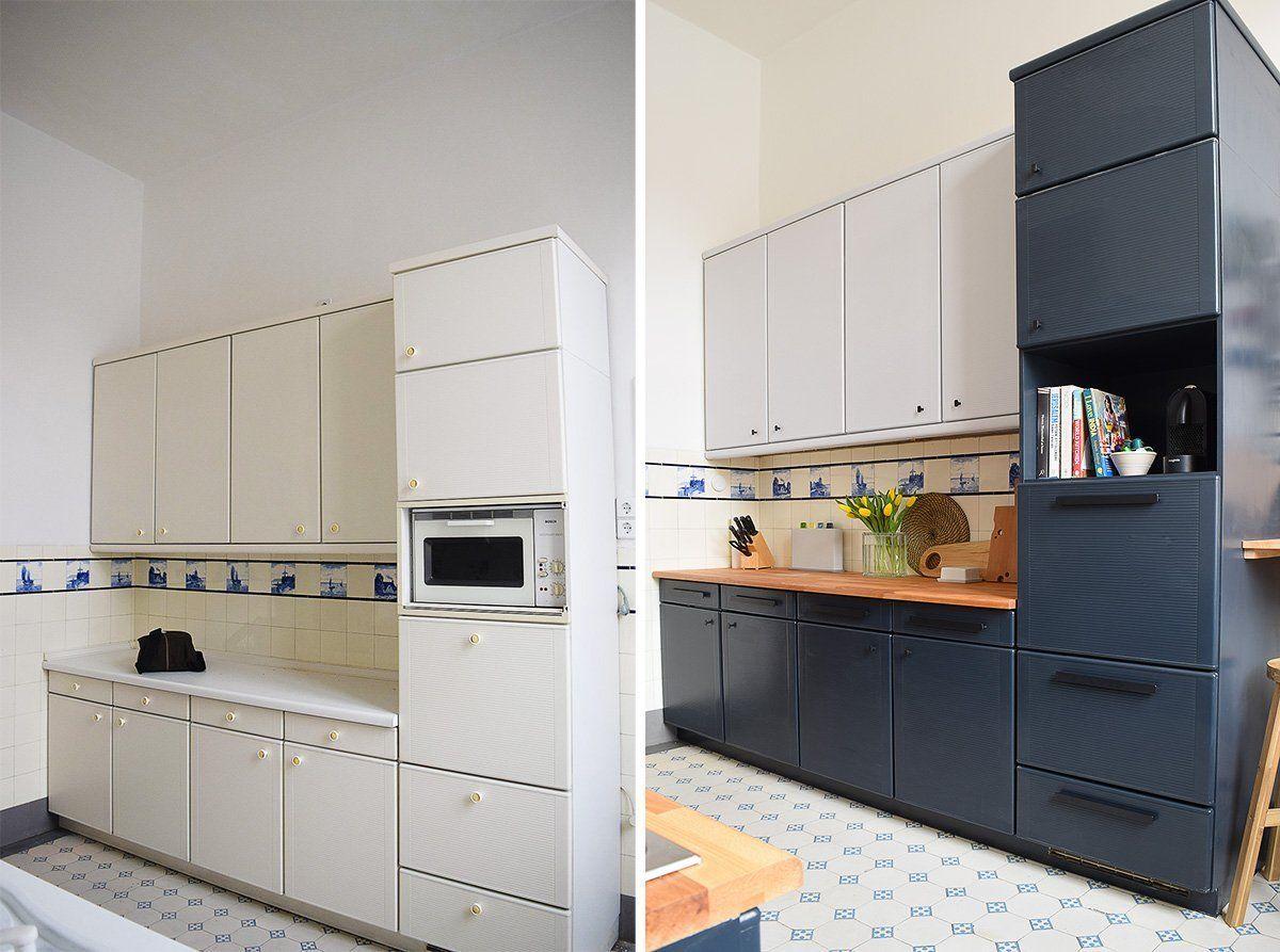 Hur Man Malar Laminat Koksskap Tips For En Professionell Och Langvarig Finish Laminate Kitchen Cabinets Painting Laminate Kitchen Cabinets Laminate Cabinets