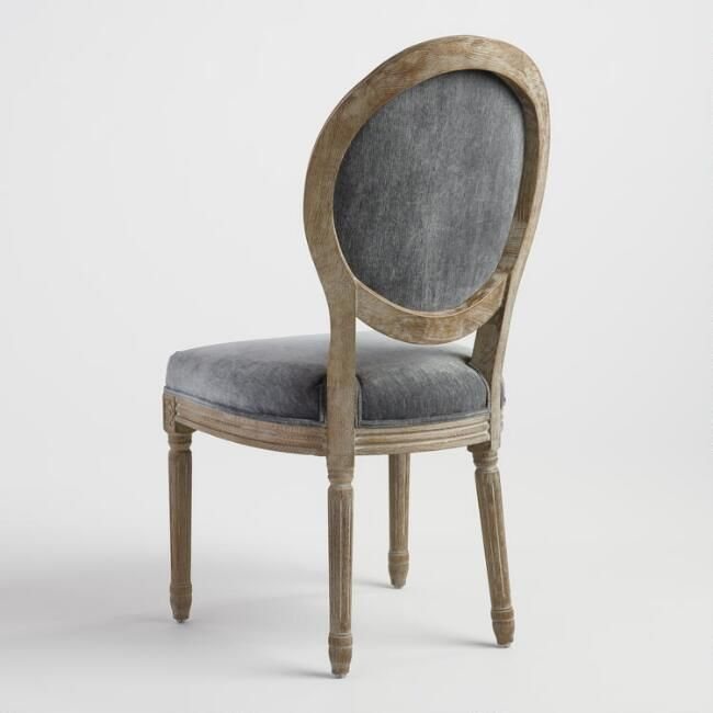 Coal Paige Round Back Dining Chairs Set Of 2 V4
