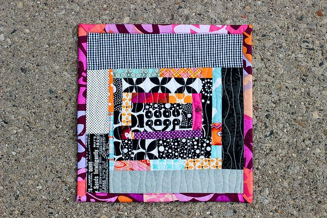 Love this mini snack mat!  by Jeni at In Color Order