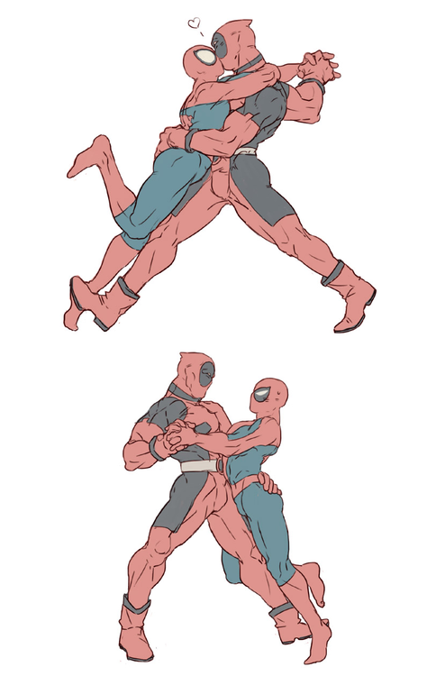 from Bobby spiderman gay dance