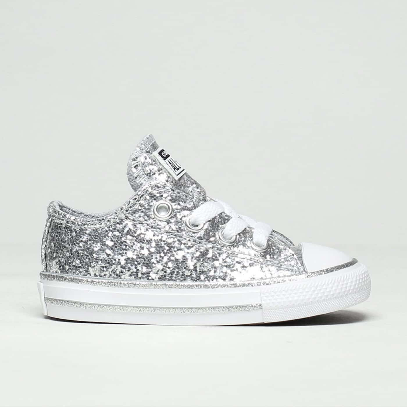 lo glitter trainers toddler