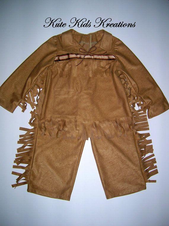 boy u0026 39 s davy crockett  daniel boone  western costume  cowboy  size 5t  ready to ship