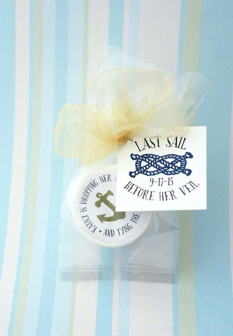 Bridal Shower Lip Balm + Custom Labels + Tags | Tying the knots, The ...