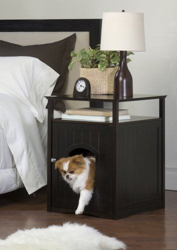 Amazon.com : Merry Pet Cat Washroom / Night Stand Pet House : Cat Houses And Condos : Pet Supplies