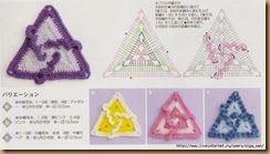 crochet triangle twenty