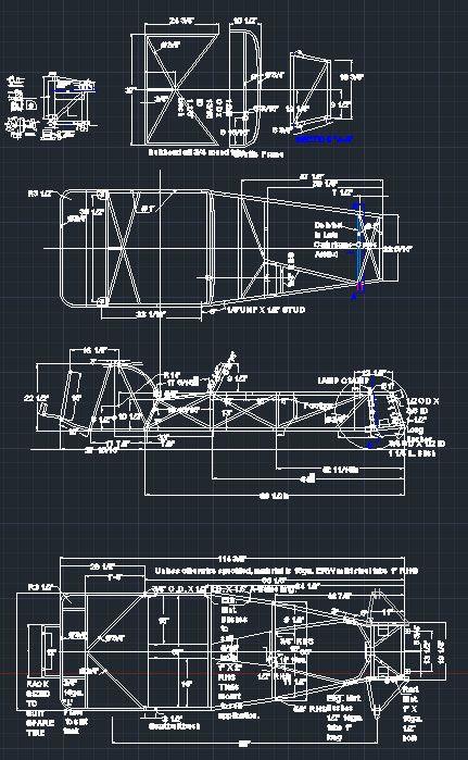 Lotus 7 Frame Plans Frame Design Amp Reviews