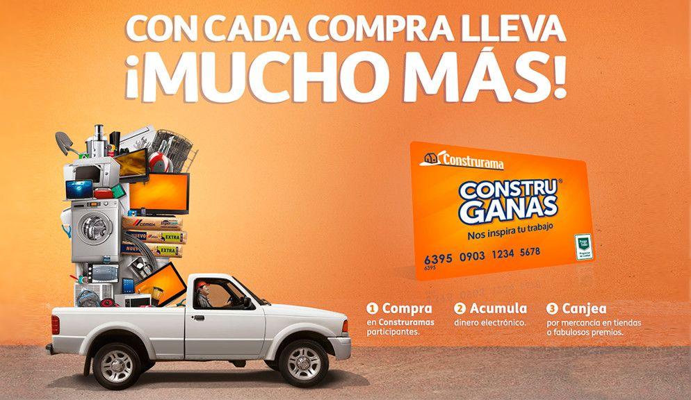 CON CADA COMPRA LLEVA MUCHO MAS... CONSTRUGANAS Compras