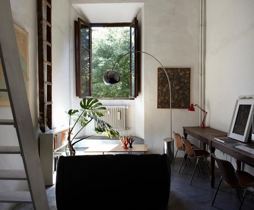 A Firenze, un appartamento a Palazzo Capponi nel 2020