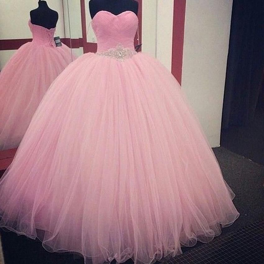 Tüll RosaDresses 2016 2019 In Ballkleid Ballmode Pinkes XOwPkZuiT