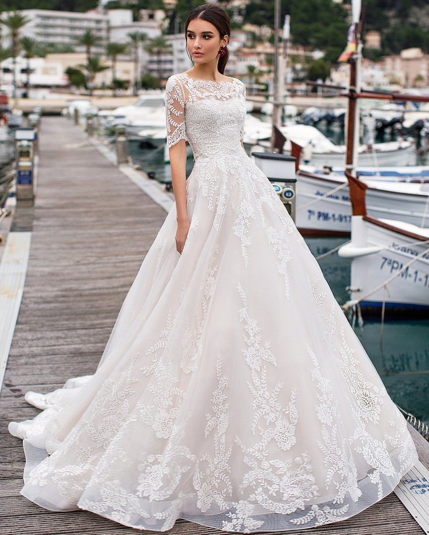 """Naviblue 2019 Wedding Dresses Dolly Collection: Naviblue Bridal On Instagram: """"Sophisticated And Delicate"""