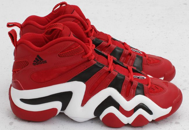hot sale online 85265 51549 adidas Crazy 8   University Red   Black
