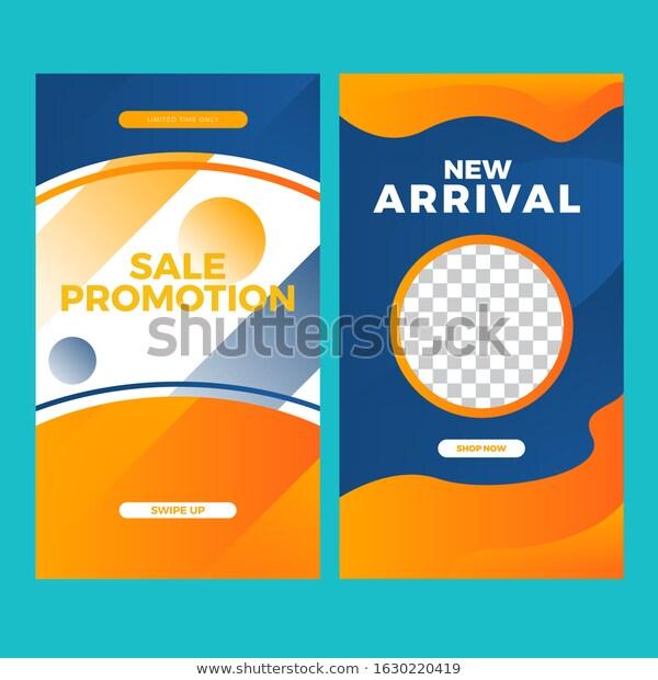Modern Banner Sale Promotion Social Media Stock Vector Royalty Free 1630220419 Sale Promotion Promotional Design Banner Design