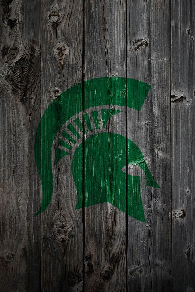 Michigan State Logo Wallpaper Wallpapersafari Michigan State Football Michigan State Michigan State Spartans