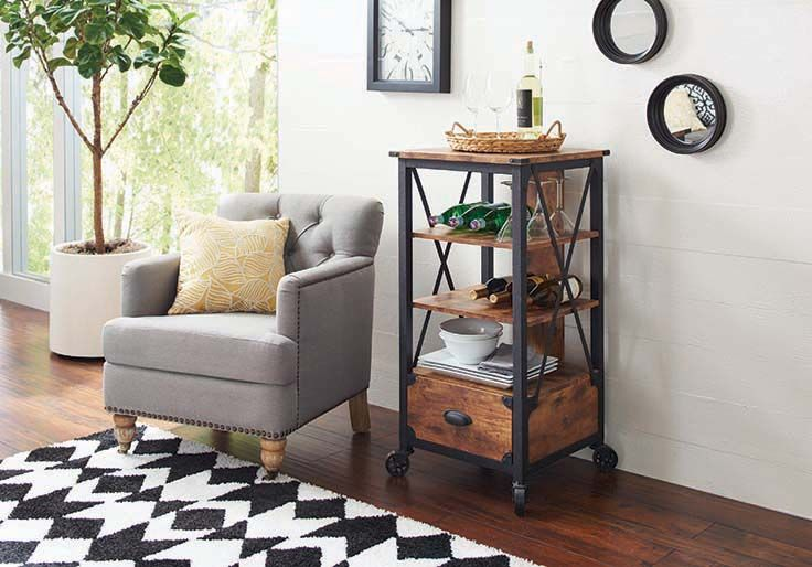 Better Homes And Gardens Rustic Country Tech Pier