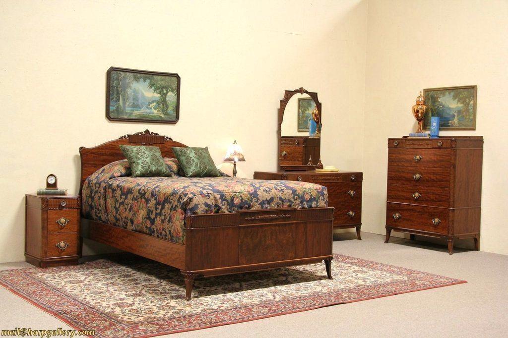 S 1930s Bedroom Furniture 1930 Waterfall Edwardian Bedroom