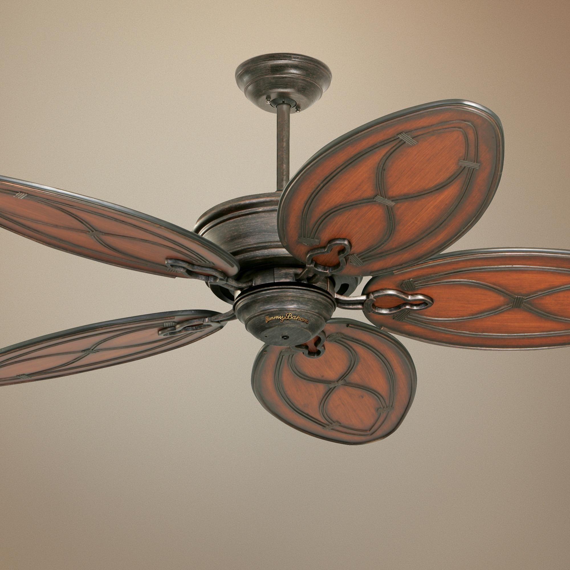 52 Tommy Bahama Copa Breeze Ceiling Fan M4704 Lamps Plus Ceiling Fan Ceiling Fan With Light Tommy Bahama Decor