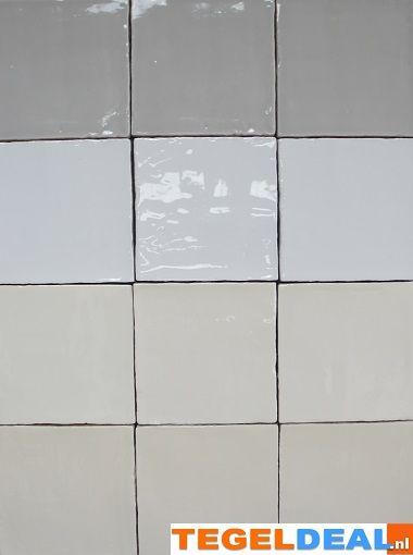 Tegels limburg wandtegel handvorm creme 13x13 cm replica friese witjes hal - Mozaiek del sur ...