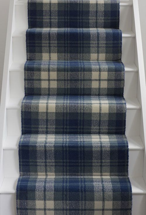 Alternative-Flooring Quirky Fling Blue | Tartan Plaid | Carpet