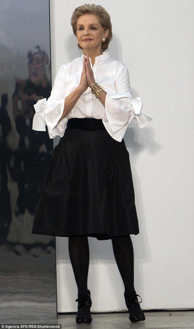 Carolina Herrera Steals The Show At Nyfw With An Elegant