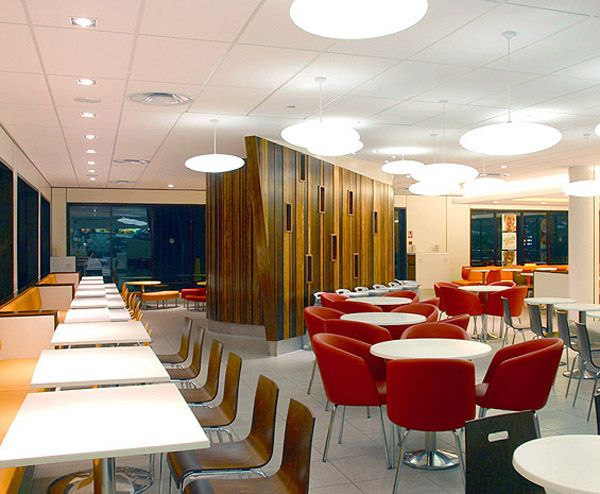 mcdonalds redesign a new era for fast food restaurants restaurant interiorsrestaurant designrestaurant - Fast Food Store Design