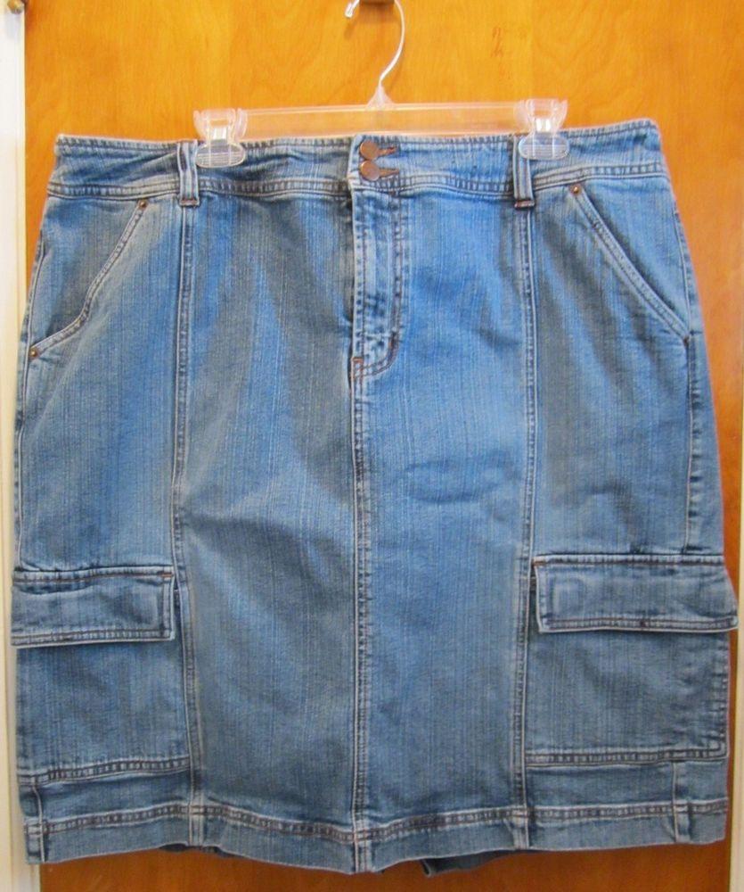 3346ee905 VENEZIA Plus Size Denim Skirt SIZE 22 - Lane Bryant - Just Below Knee  Length #Venezia #StraightPencil