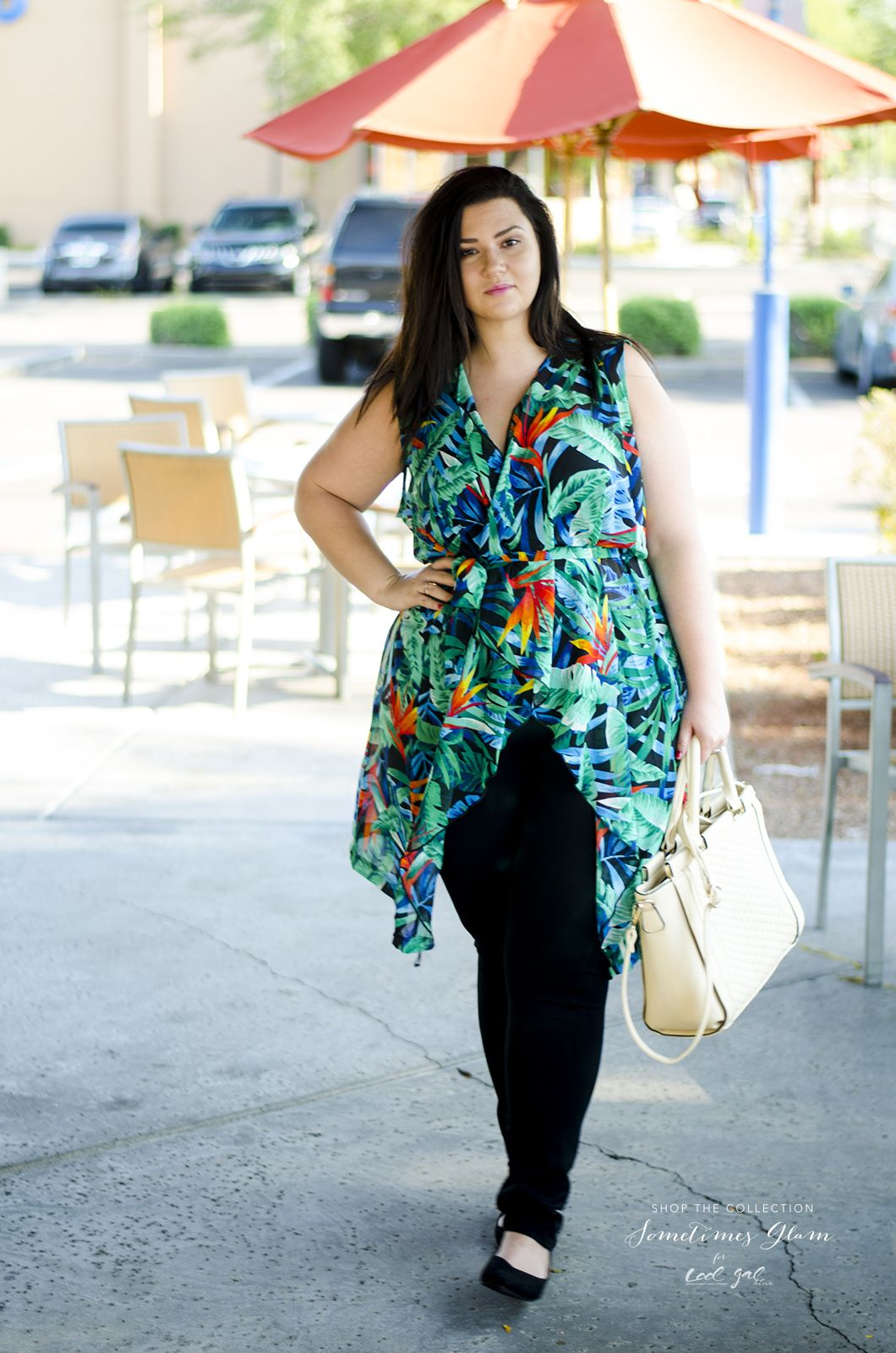 23878fa756 SometimesGlam x Cool Gal Blue Plus Size Casual