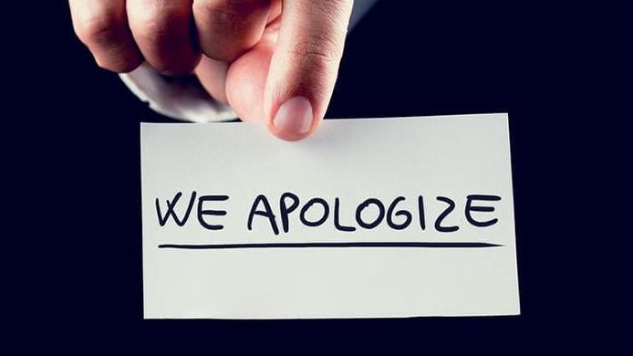 Contoh Surat Permohonan Maaf Kepada Konsumen Dalam Bahasa