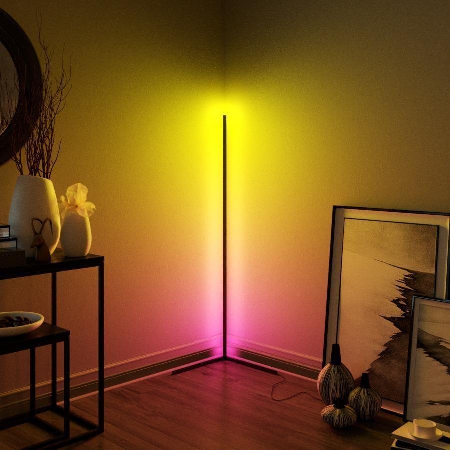 The Minima Lamp Helps You Set The Mood Minimal Lamp Corner Floor Lamp Mood Lamps Corner light for living room