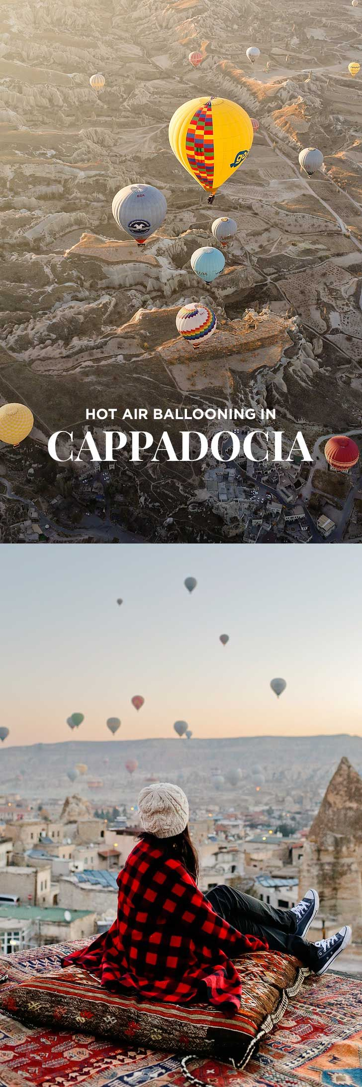 Riding Cappadocia Hot Air Balloons in Turkey Hot air