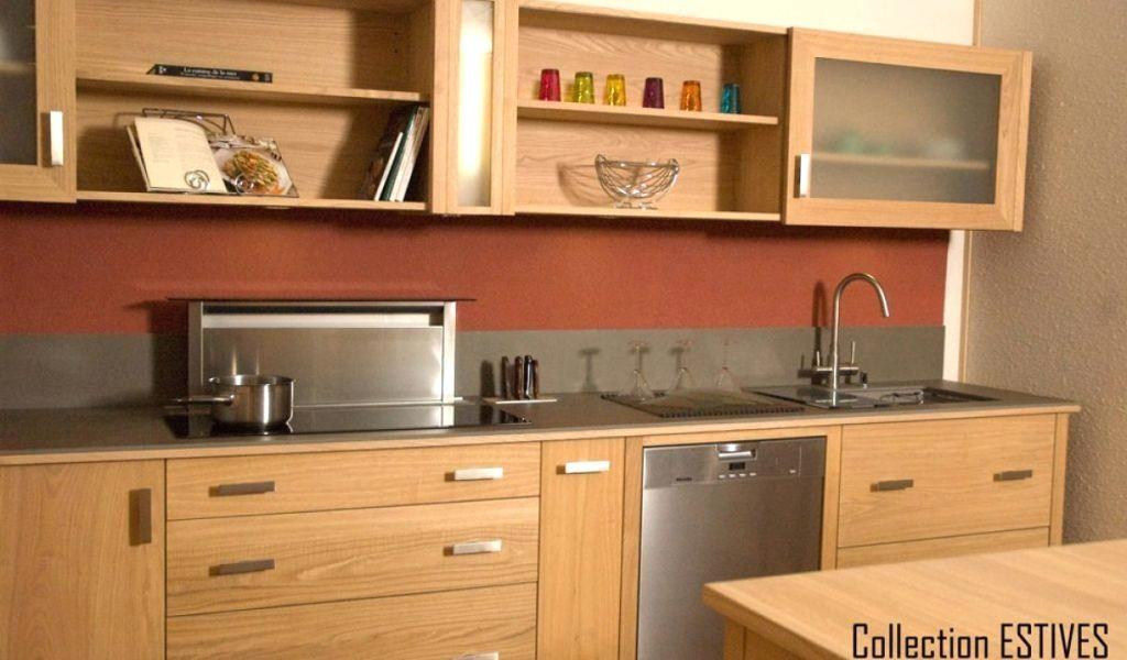 Phenomenal Meuble De Cuisine En Bois Meuble De Cuisine En Bois Brut A Peindre Kitchen Renovation D Kitchen Cabinets