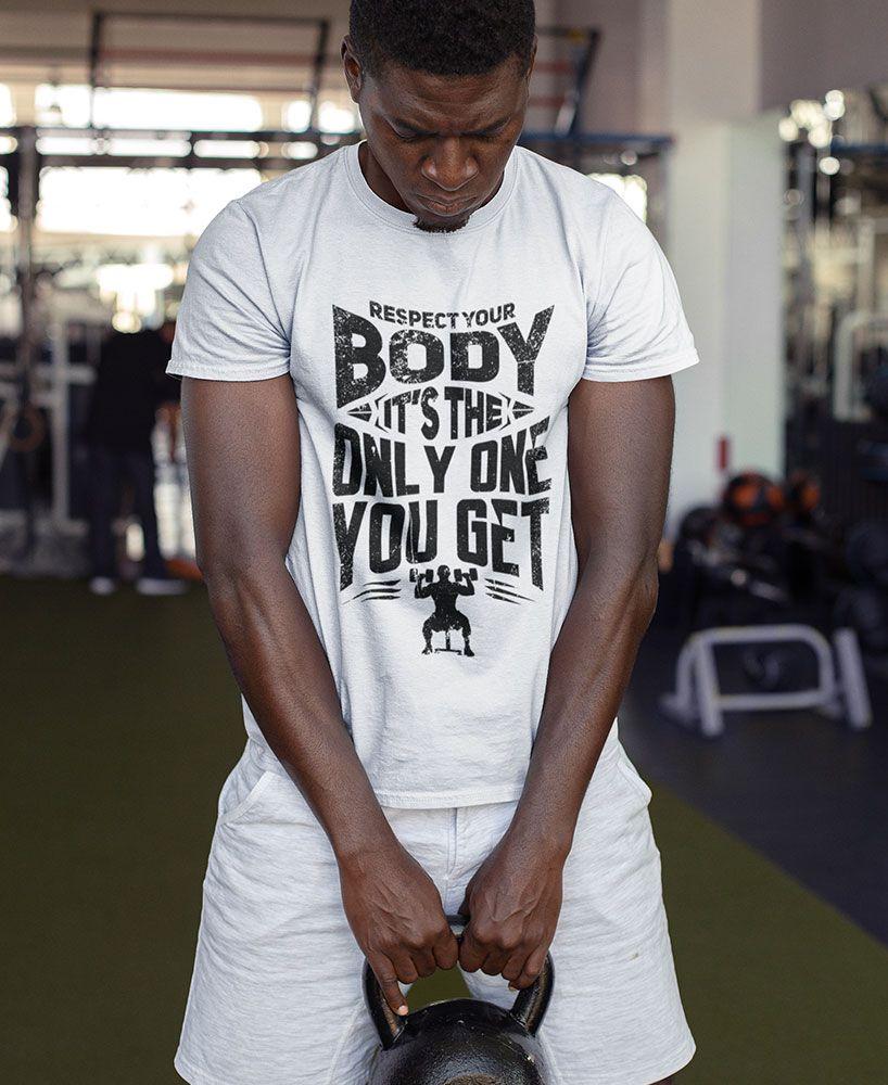 Insta schlanke Muskel Shirt