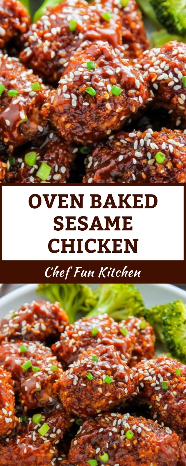 OVEN BAKED SESAME CHICKEN in 2020 (With images) | Beef ...