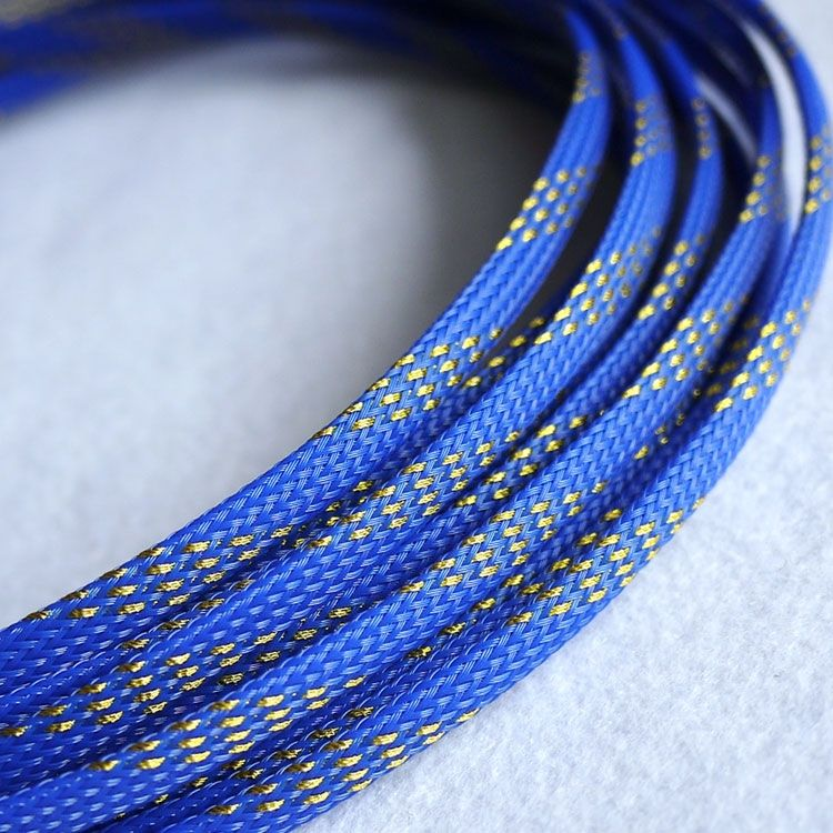 4mm Tight Braided PET Expandable Sleeving New High Quality Sheathing ...