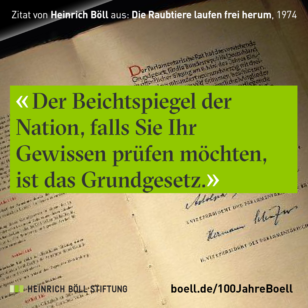Zitat Von Heinrich Boll Passend Zum Tag Der Deutschen Einheit 2017 Zitate Heinrich Boll Inspirierende Zitate
