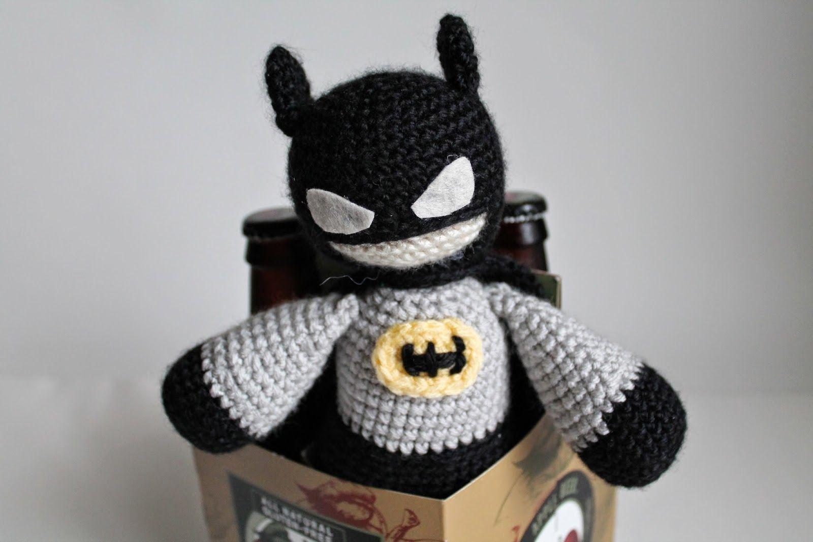 Crochet Batman (free pattern) | Crochet | Pinterest | Patrón de ...