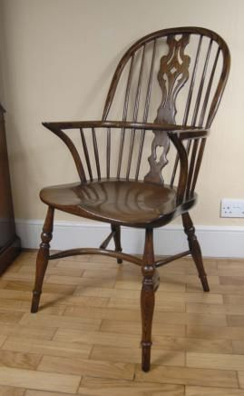 Oak Kitchen Chairs How Much To Remodel A Pair Windsor Farmhouse Chair
