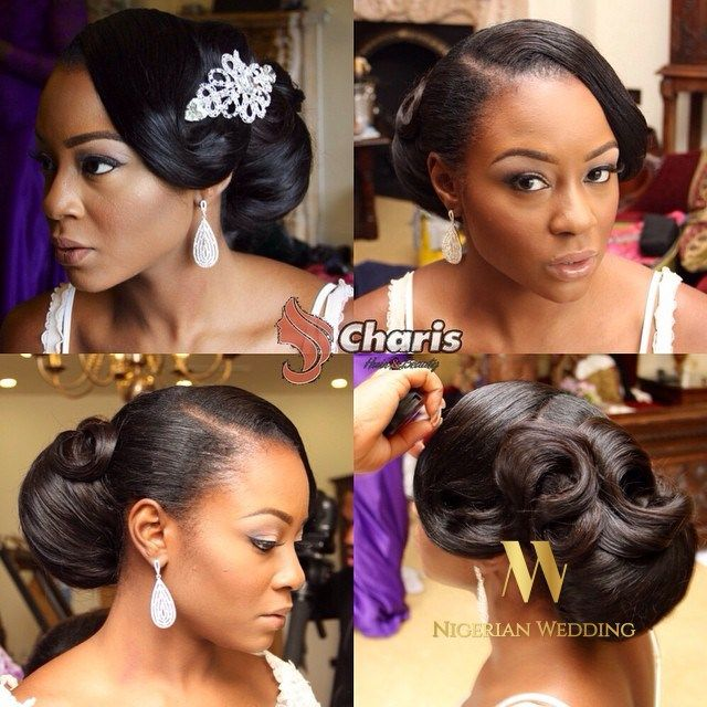 Wedding hairstyles for afro caribbean hairdressers