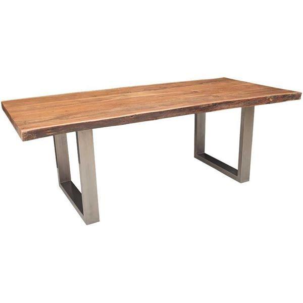 Live Edge Acacia Dining Table