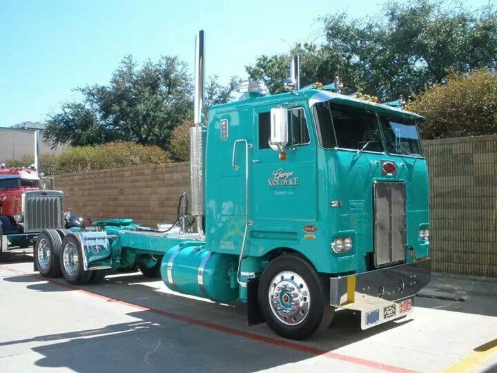 Peterbilt 352 COE | Custom Big Rigs | Trucks, Big rig trucks