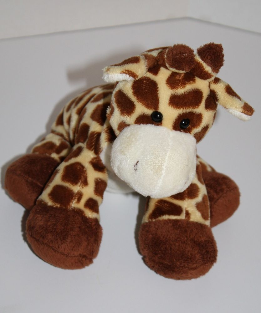ty pluffies plush tiptop giraffe stuffed animal soft toy 2006 11 yellow brown ty pluffies. Black Bedroom Furniture Sets. Home Design Ideas