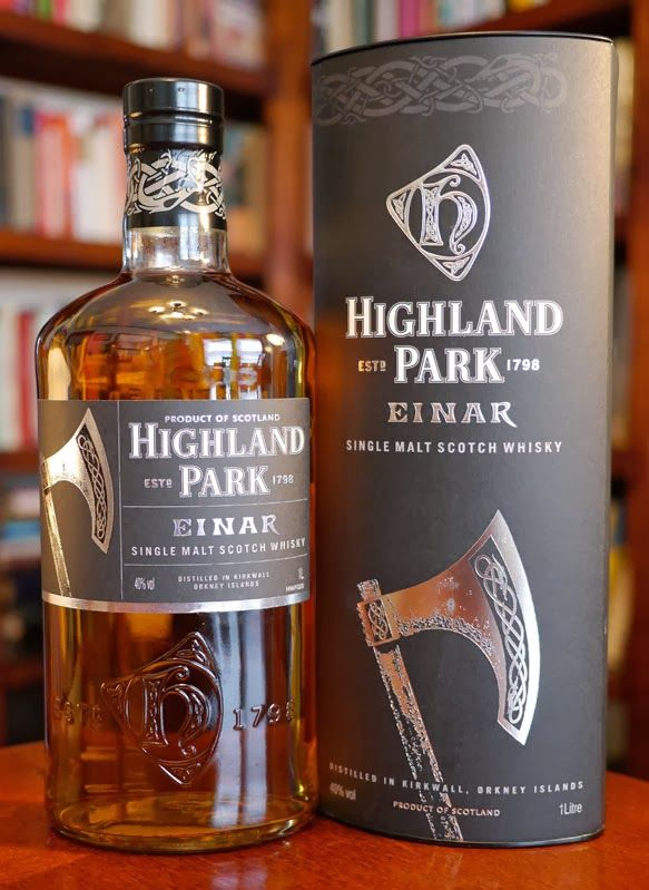 The Highland Park Einar Single Malt Scotch Whisky